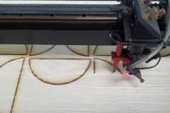 Redblock Advertising and Media - Thick wood cutting with CNC Router