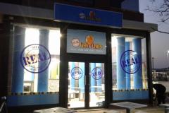 Redblock - Shopfront window branding and Signage