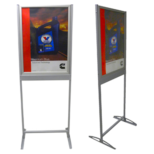 Redblock Advertising Media Shutter Frame / Poster Display Stand