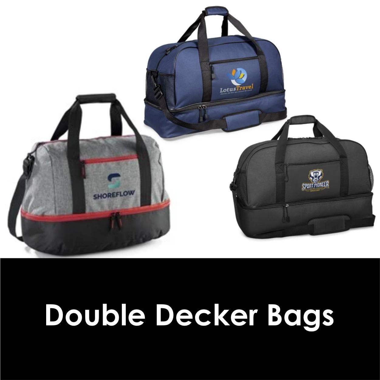 Redblock Advertising Media Double Decker Bags