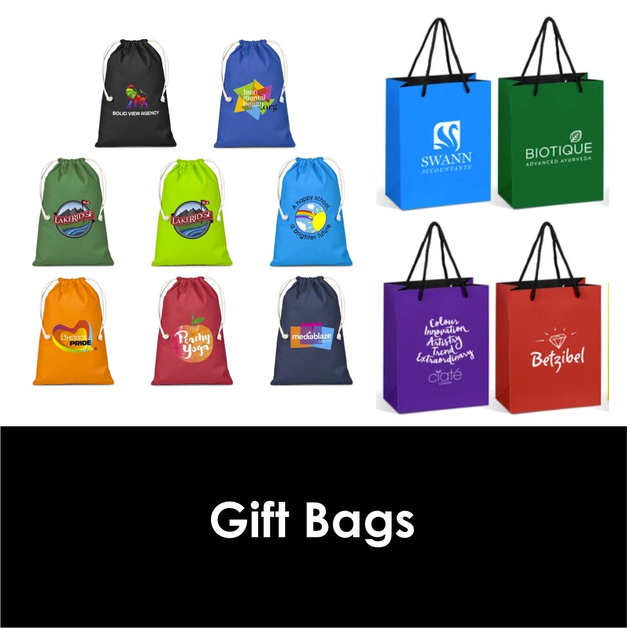 Redblock Advertising Media Gift Bags