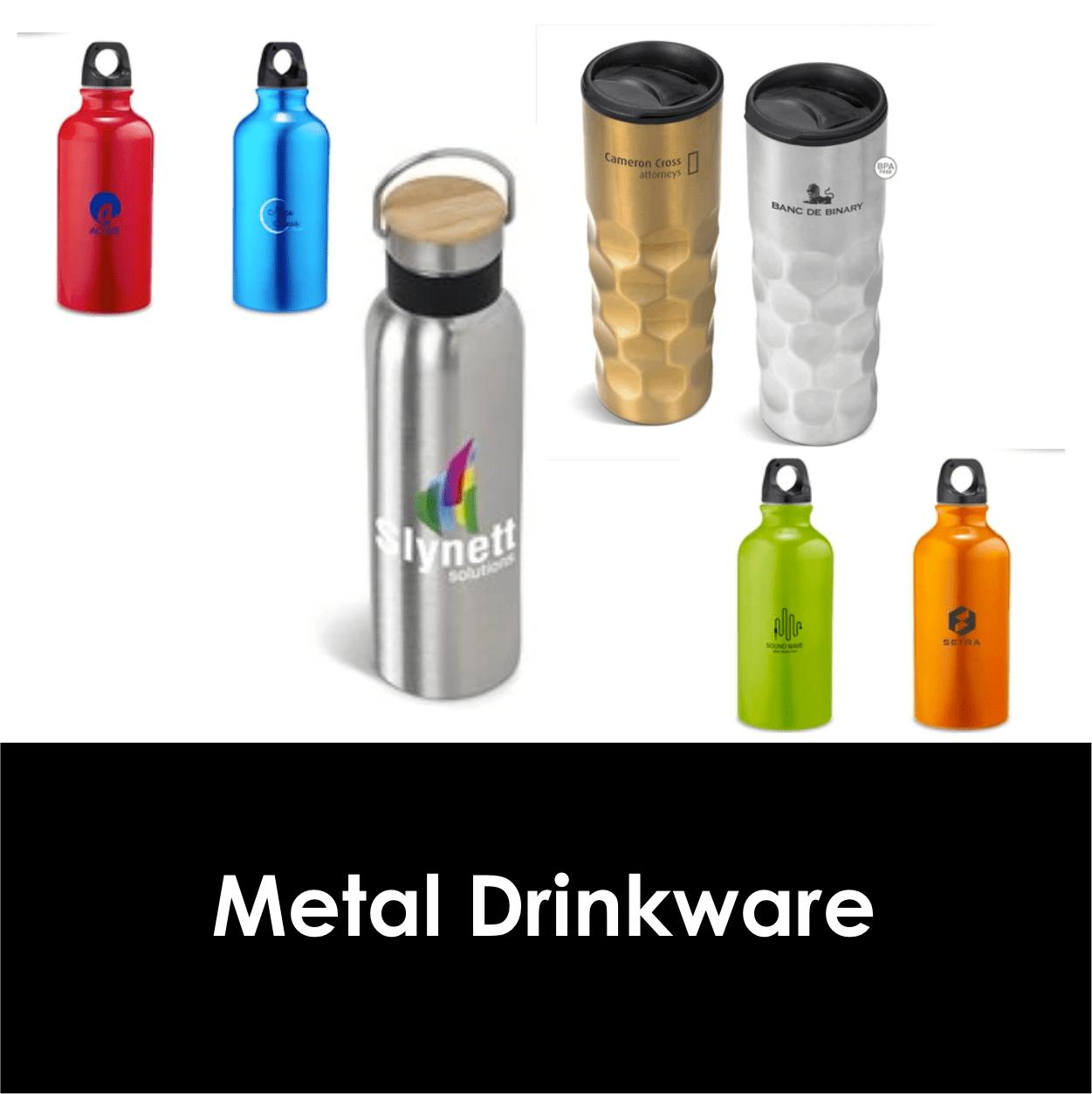 Redblock Advertising Media Metal Drinkware
