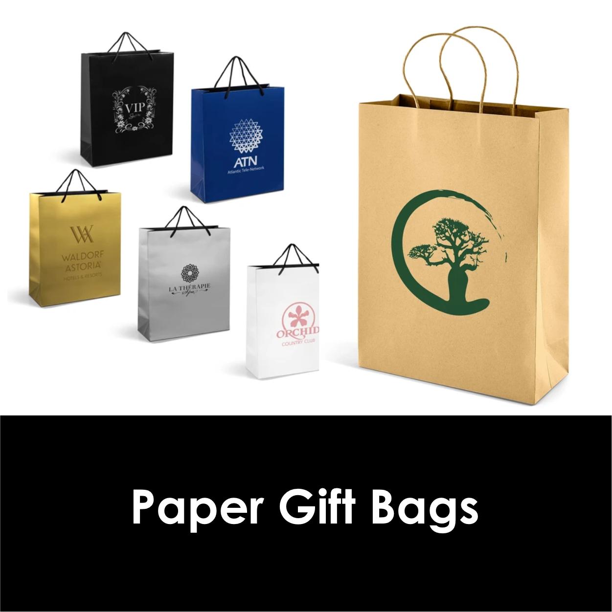 Redblock Advertising Media Paper Gift Bags