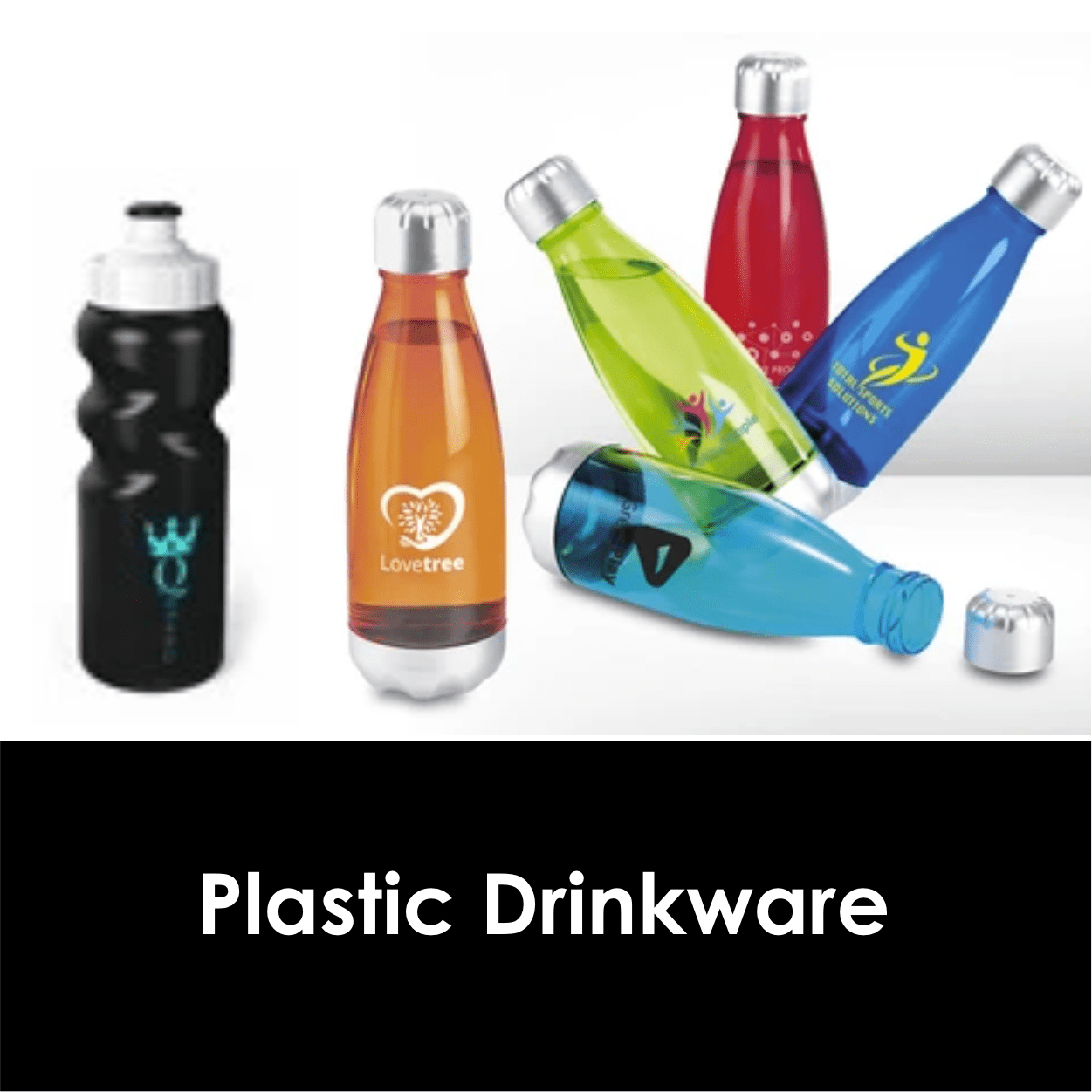 Redblock Advertising Media Plastic Drinkware