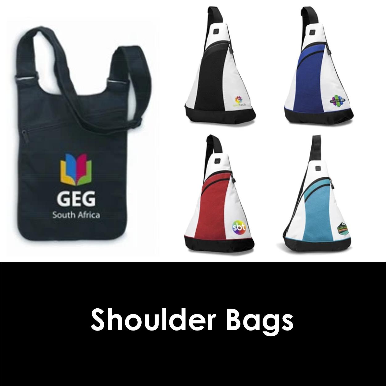 Redblock Advertising Media Shoulder Bags